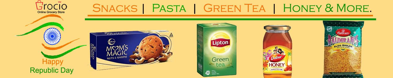 Buy Snacks & Beverages Online on Grocio is one stop shop for online grocery shopping in Noida.