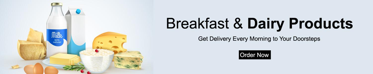Buy Breakfast & Daily Dairy Products Online and grocio.in